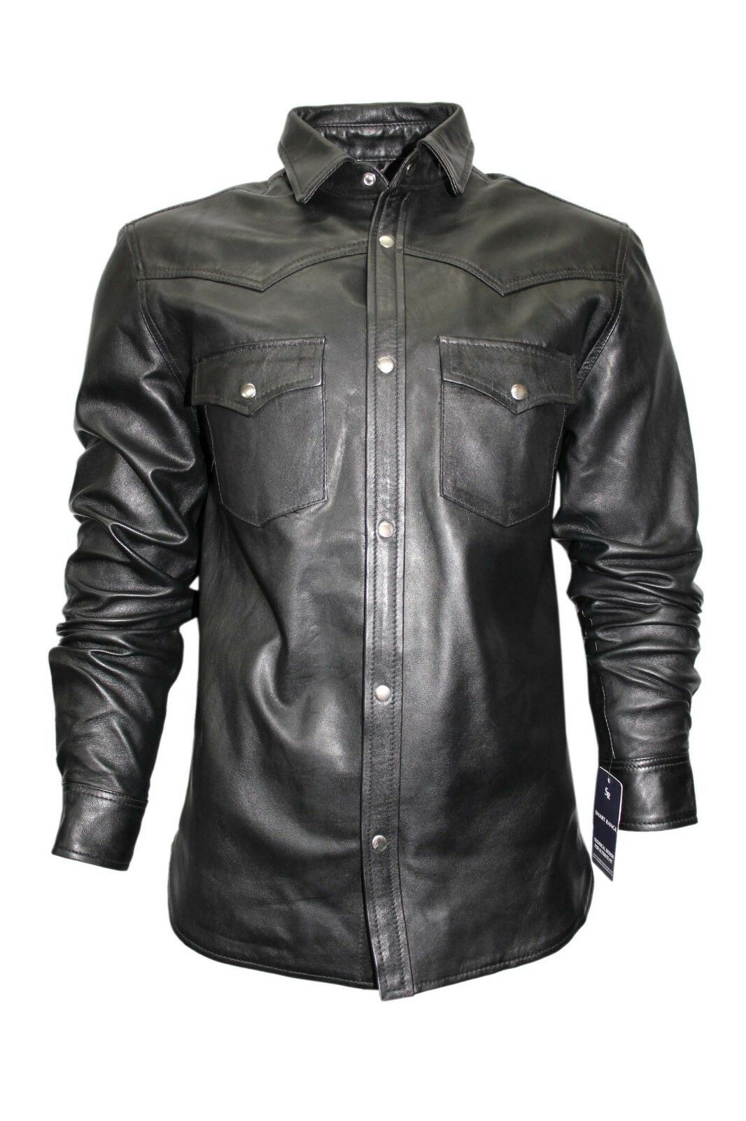 New Fashion Casual Men/'s Tan Deluxe Biker Style Real Soft Nappa Leather Jacket